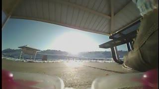 Flying Redwhoop Drone