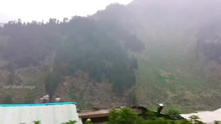 Rainy weather and Lovely mountain views amazing