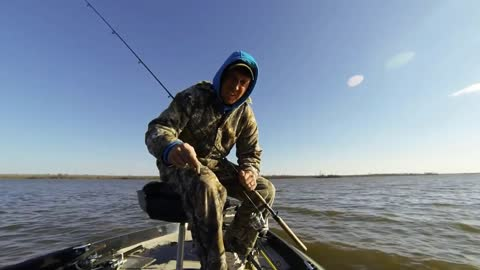 Bass Fishing Storm