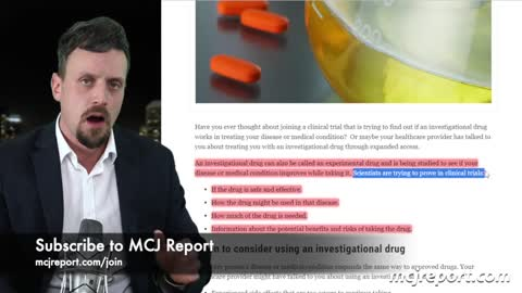 Morgan explains the template letter he wrote for mandatory vaccination VIC