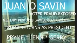 JUAN O SAVIN * * * * MILITARY WILL RESTORE LAWFUL GOVERNMENT