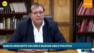Este fue Alan García, dos veces presidente de Perú