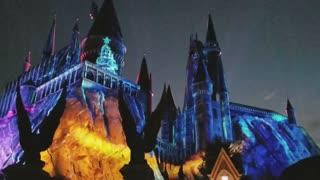 Universal Florida Harry Potter Christmas