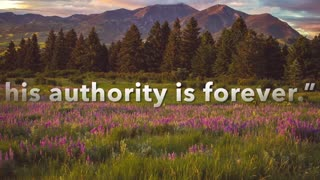 His Authority is Forever