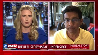 The Real Story - OANN Exposing Pro-Palestinian Propaganda with Dinesh D'Souza