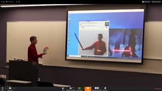 April Fools Prank in Online Math Class Conference
