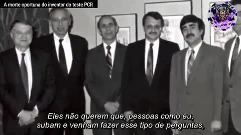PANDEMIA COVID E A MORTE OPORTUNA DO INVENTOR DO TESTE PCR - DR. KARY MULLIS