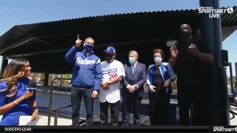 WATCH: Fans ERUPT In Boos as Dem LA Mayor Announced at Baseball Game