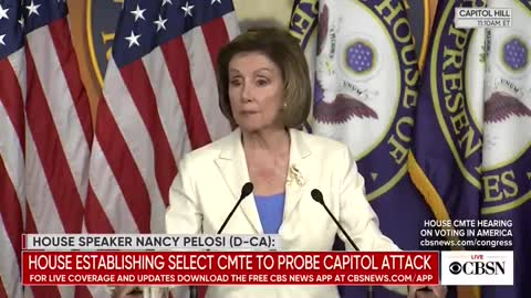 Nancy Pelosi Gives Her Take on What Drove the Jan 6 Riots