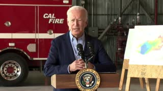 Biden on climate change and wildfires