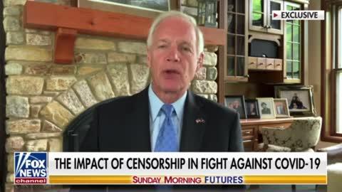 Sen. Ron Johnson Talks VAERS, Vaxx Deaths and Big Tech Censorship