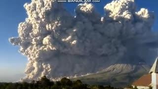 Sinabung Volcano ERUPTS in Sumatra, Indonesia Mar. 2, 2021