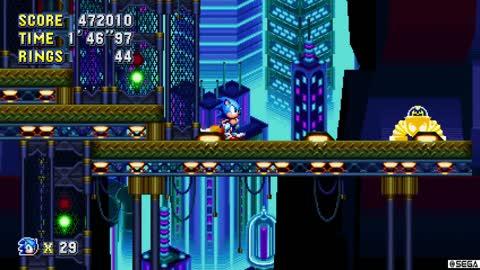 Sonic Mania Baddies and Bonus Round
