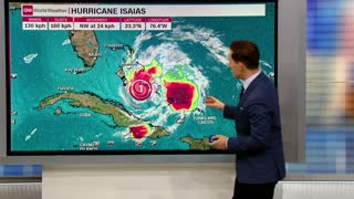 Hurricane Isaias takes aim at Florida