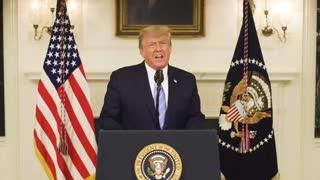 President Donald J Trump's concession speech