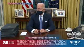 Biden: Trump Left A Very Generous Letter