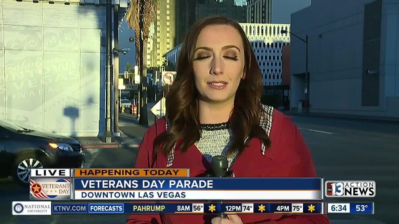 Las Vegas Veterans Day parade preview