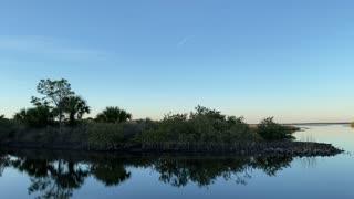 Sunset at a Florida Park