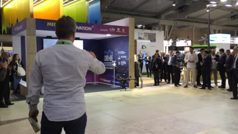 Drone at Smart City Expo World Congress Barcelona