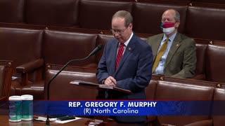 Rep. Gregory F. Murphy HR 3884 CONGRESS Debate! House Approves Decriminalizing Marijuana