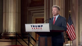Rand Paul says he's proud of the job Trump has done
