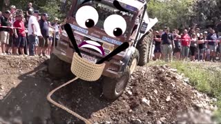 Off Road Truck Trial - 8x8 Mercedes-Benz | Off-Road Vehicle Mud Race