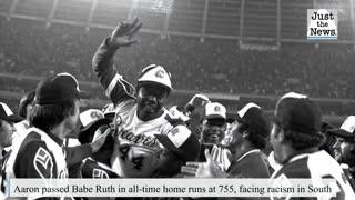 Hank Aaron, former home run king, Atlanta Braves star dies at 86