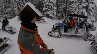 Government Meadows 2015, Mountain Rescue snow machine training and coordination