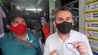 Cierran unas cuadras del Centro de Bucaramanga