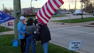 November 10, 2020, Stop The Steal Rally, Sterling Heights, MI