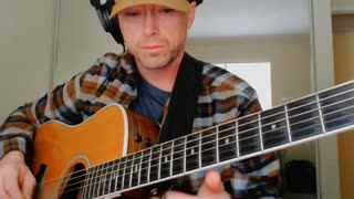 acoustic guitar slow blues finger picking groove