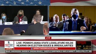 PA Election Fraud Hearing Nov. 25th, 2020
