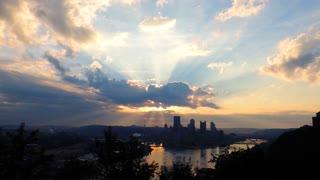 Pittsburgh Sunrise A Few Seconds of Amazement