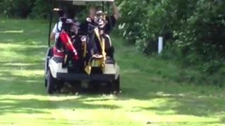 Golf Cart Drifting Fail