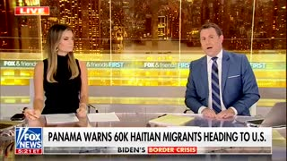 Panama officials say that as many as 60,000 Haitian migrants are going to the U.S. border.