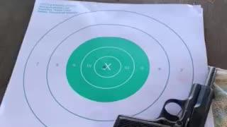 Bullseye! ...new target please.