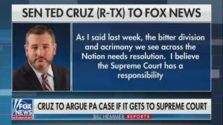 Ted Cruz Has BIG NEWS If Pennsylvania Case Goes to SCOTUS