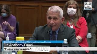 "Fauci: ""Wear a mask!"""