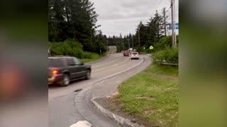 Tsunami warning siren heard in Alaska after earthquake