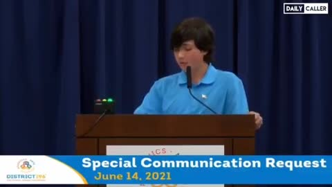 A 15 year old speaks about CRT at his school