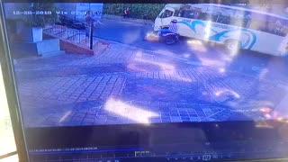Video registró accidente en que falleció un motociclista en Floridablanca
