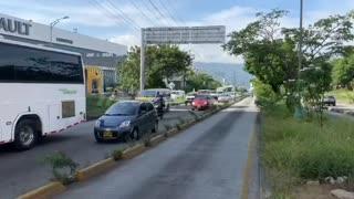 Video: día de protestas en Bucaramanga y el área