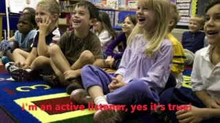 Circle Time and Active Listening is important