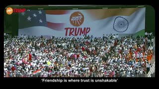 Highlights of President Trump's visit to India. President Donlad J Trump