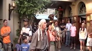 Bootstrapers singing YoHo song Disneyland 2009