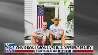 Tucker Carlson Reveals That Don Lemon Lives In Town That Is 80% White