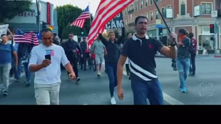 Trump supporters attempt to save Los Angeles