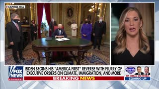 Biden begins to reverse 'America First' agenda with executive orders