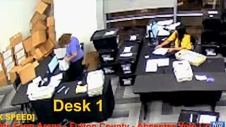 Watch Ballots Being Scanned Over And Over