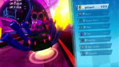 Electron Avenue Nintendo Switch Gameplay - Crash Team Racing Nitro-Fueled